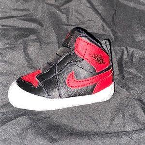 Jordan 1s booties